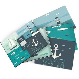Magpie Ahoy Seaside Placemats - Set of 4 XL